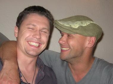 Максим Аверин и Денис Рожков